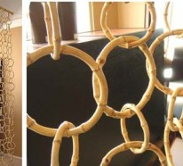 VON OBEN NACH UNTEN: 10 schöne Ideen für Gardinen als Trennwand im Innenraum
