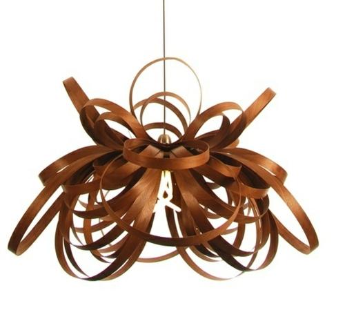 durcheindander gebogene stehlampen aus holz attraktive beleuchtung. Black Bedroom Furniture Sets. Home Design Ideas