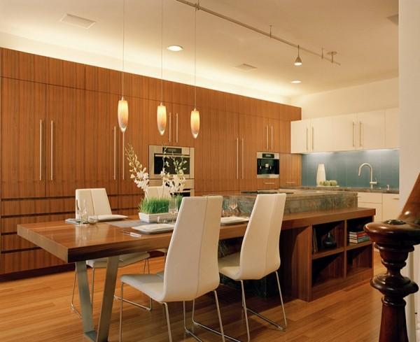 gemütliche küche einrichten design eingebaute küchenschränke