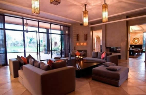 Wohnzimmer Farben Dunkle Möbel