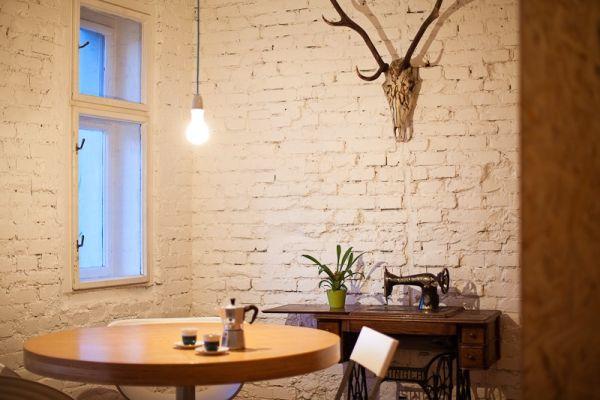glühbirne pendelleuchten runder tisch kaffee nähmaschine klassisch