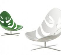 Lebhaft und attraktiv in Grün : 25 grüne Designer Stühle und Sessel