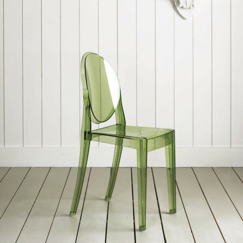 grüne desgrüne designer stühle acryl transparent durchsichtig