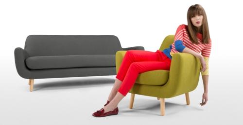 grüne designer stühle bequem gepolstert sessel armlehne