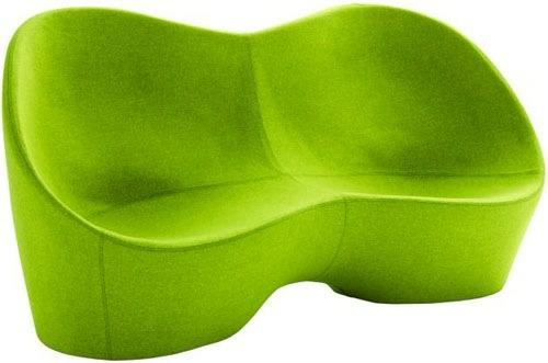 grüne Designer Stühle und Sessel bequem gepolstert sessel couch karim rashid