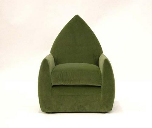 grüne designer stühle bequem gepolstert sessel dunkelgrün-landrum