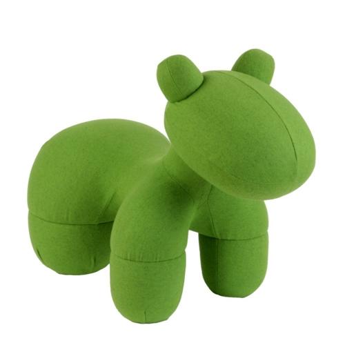 grüne designer stühle bequem gepolstert sessel pony