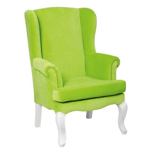 grüne Designer Stühle und Sessel bequem gepolstert sessel rücklehne