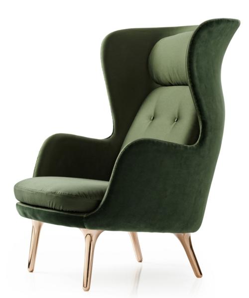 grüne designer stühle extravagant klassisch dunkelgrün