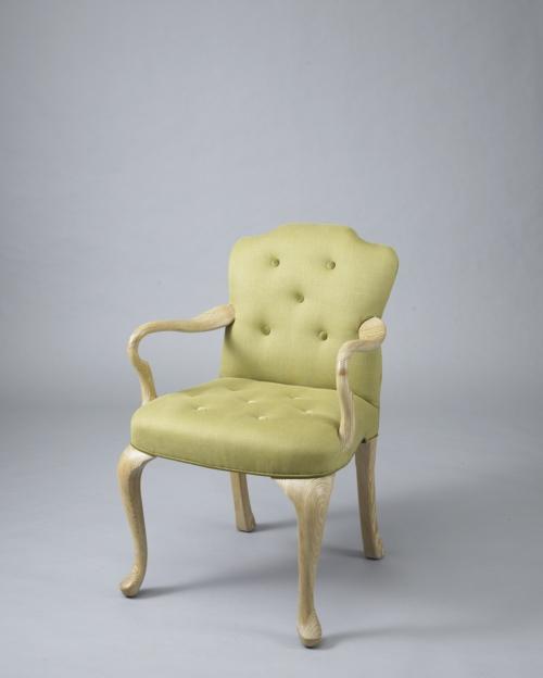grüne designer stühle holz rahmen klassisch modell