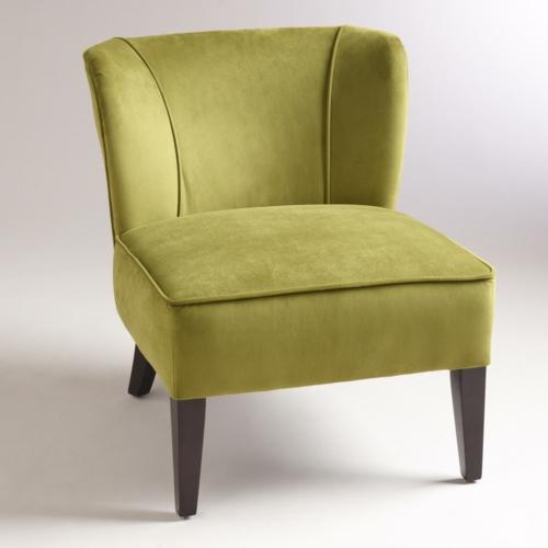 grüne designer stühle sessel weich samt stuhlbeine rücklehne