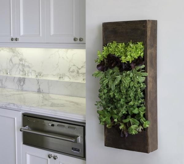 Küche Grüne Wand : gr ne trend k che 10 gesunde und umweltfreundliche ideen ~ Eleganceandgraceweddings.com Haus und Dekorationen