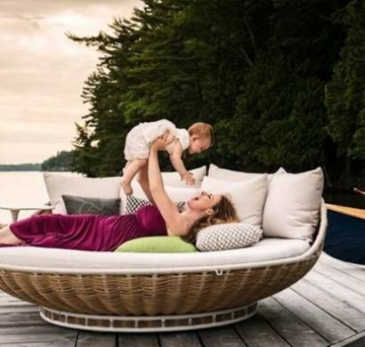 swing rest' – das luxuriöse moderne lounge bett - 2014-11-14, Möbel