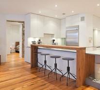 12 innovative Küchenbar Designs für eine moderne Kücheneinrichtung
