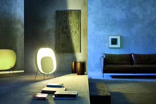 innovatives stehlampe design originell led stoffe