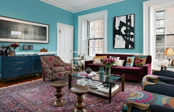 interior design mythen eine tolle mischung an farben und mustern