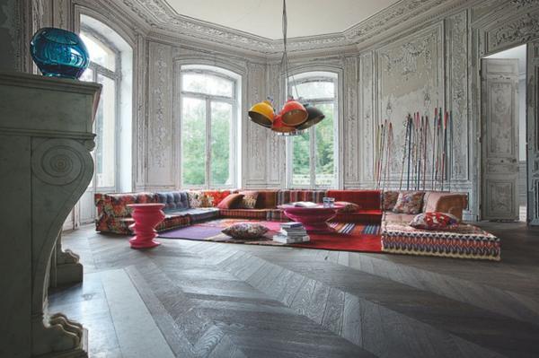interior design mythen eklektische einrichtung gemischte stile sehr bunt und elegant