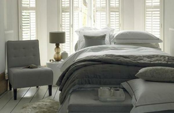 interior design mythen graue und weiße schattierung gedämpftes licht