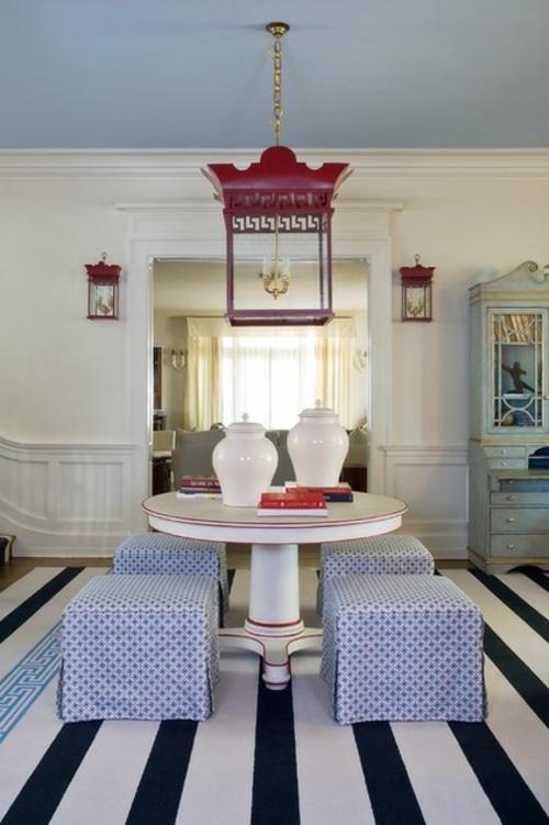 15 Farbigen Interior Designs In Rot, Weiß Und Blau. Los Geht Es! | Farben  ...