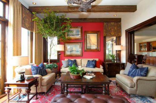 15 Farbigen Interior Designs In Rot, Weiß Und Blau. Los Geht Es!   Farben  ...