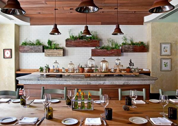 küche upgraden klassisch einrichtung fliesen hängelampen