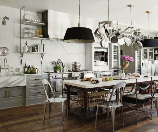 küche upgraden klassisch einrichtung rustikal  monochromatisch