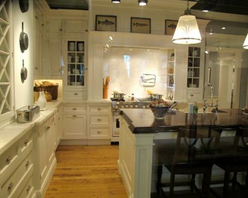 küchenbereich traditionell warm gemütlich einrichtung