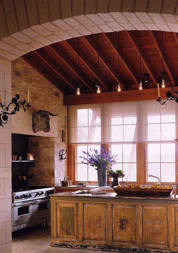 kücheninsel design ideen traditionelle vintage ausstattung
