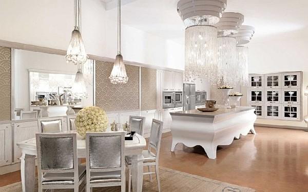 kücheninsel design ideen ultra extravagant und luxuriös