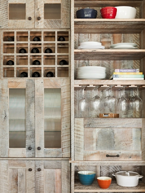 Diy Barnwood Kitchen Cabinets