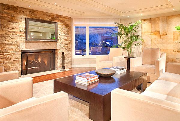 34 kamine mit verglasung top designideen f r die moderne for Wohnung tisch