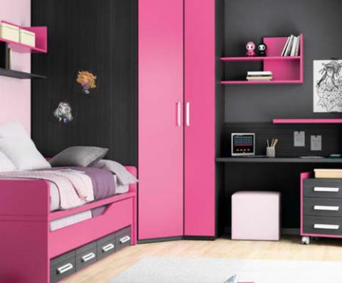 klasse kinderzimmer design pink mädchen zimmer