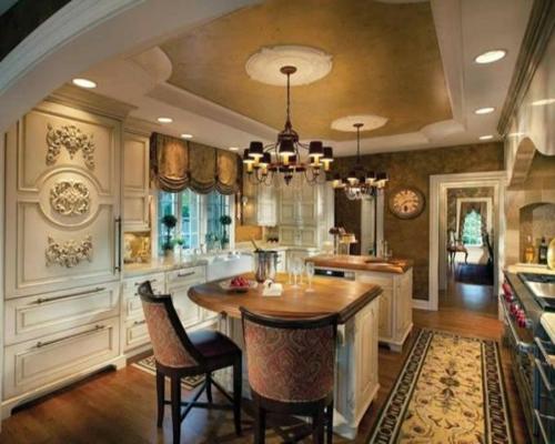 klassisch elegant küche außergewöhnlich design