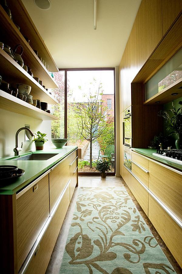 Kleine eingebaute Küche - hervorragende Design Ideen