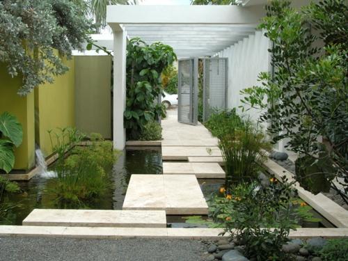 koi teich im garten anlegen - ein extra fürs asiatische ambiente, Garten ideen