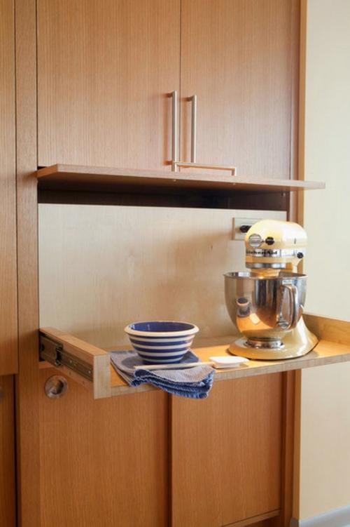 kreative küchen designs holz küchenschränke regale