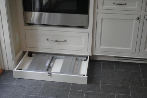 kreative küchen designs stauraum ausziehbar schubladen