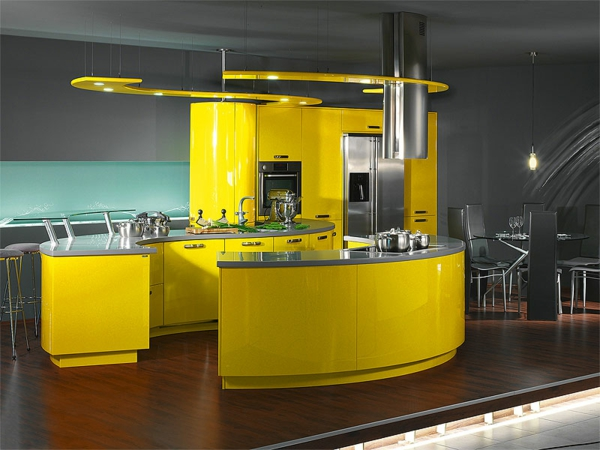 20 Luxus Küchen Designs, welche der kindischen Freude wert sind | {Küche modern luxus 19}