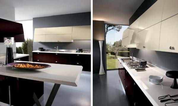 luxus küchen designs modern kompakt einrichtung modern