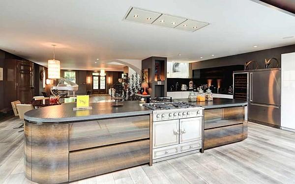 luxus küchen designs weiß eingebaute küchenschrank massiv möbel