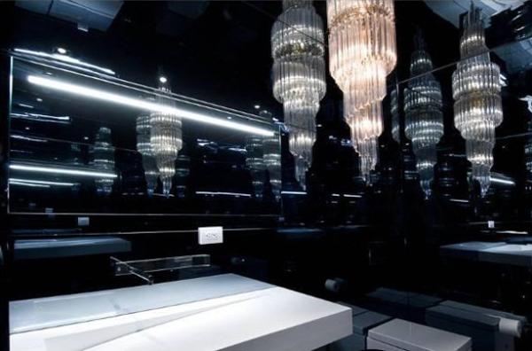 Luxus badezimmer schwarz  Sanviro.com | Badezimmer Schwarz Weiß
