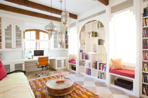 marokkanisches Flair im Interieur Design pendelleuchten orientalisch
