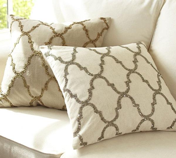 metallglanz bei interior design rustikaler luxus mit goldenen pailletten
