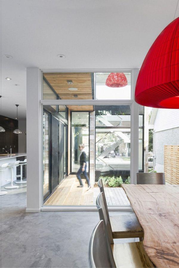 minimalistische residenz in ottawa elegante umwandlung einer scheune. Black Bedroom Furniture Sets. Home Design Ideas