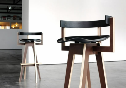 Barhocker Aus Holz Mit Lehne | Dekoration Ideen