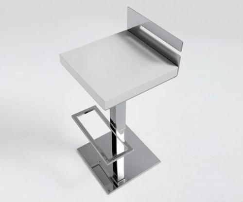 48 moderne barhocker designs mit lehnen schicke for Barhocker quadratisch