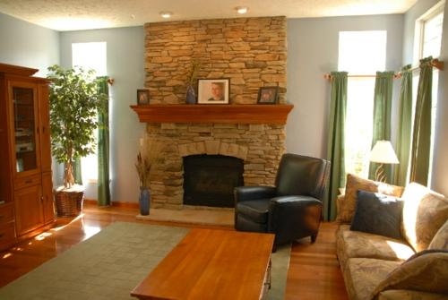 Interior design ideen in craftsman stil for Craftsman style home interior