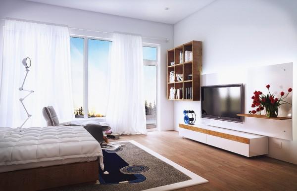 Moderne schlafzimmer entworfen von koj design for Habitaciones modernas para adultos