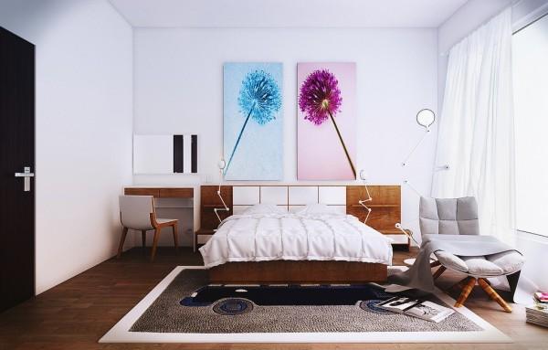 moderne schlafzimmer entworfen von koj design. Black Bedroom Furniture Sets. Home Design Ideas