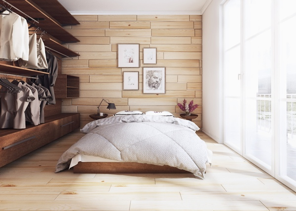 Moderne Schlafzimmer entworfen von Koj Design
